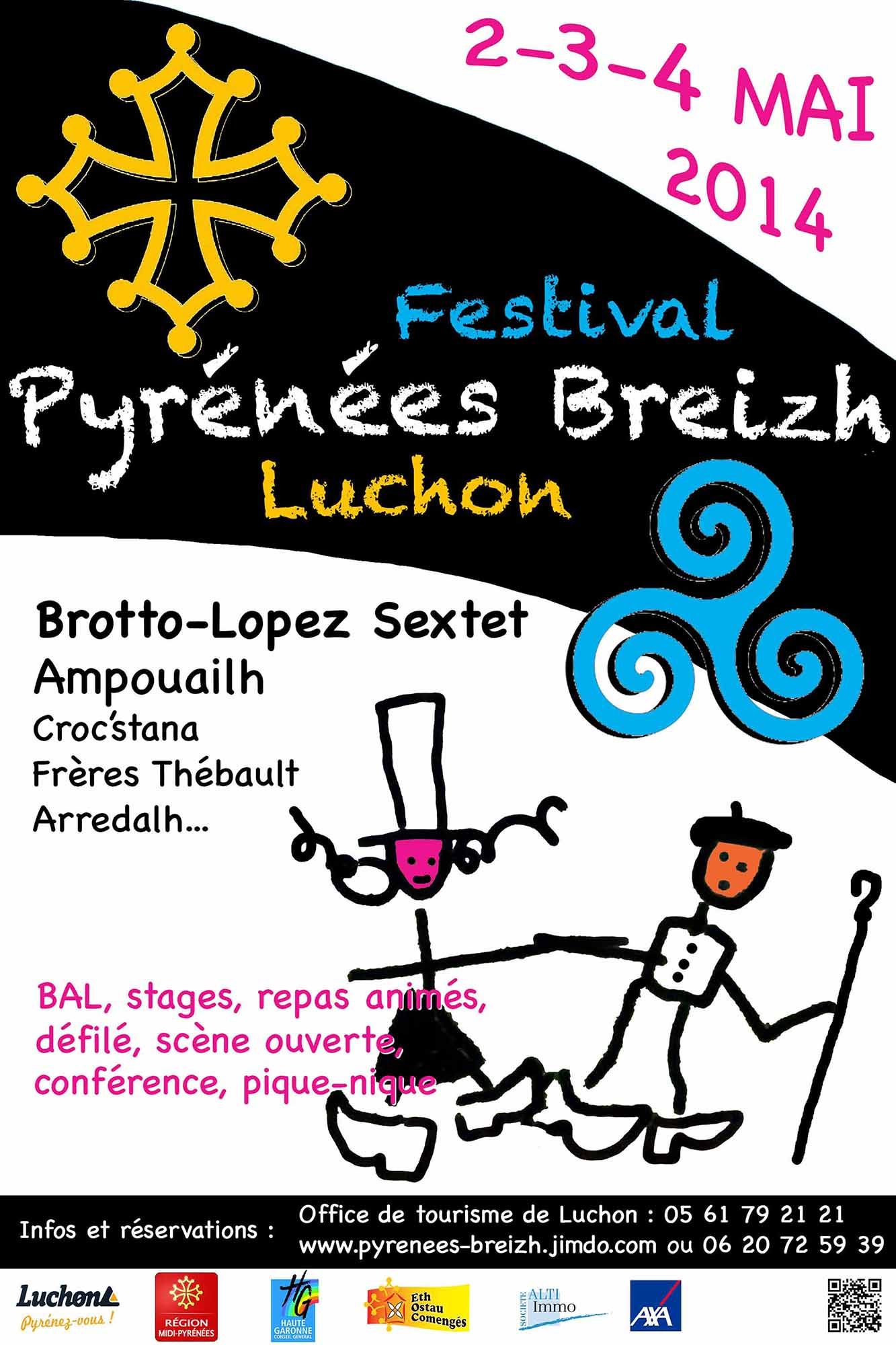Festival pyr n es breizh luchon 02 mai 2014 bagn res de luchon - Office de tourisme luchon ...