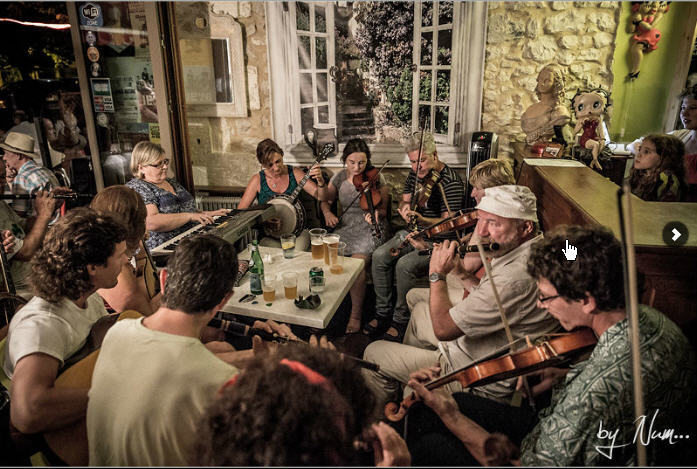 Rencontres musicales irlandaises tocane saint apre