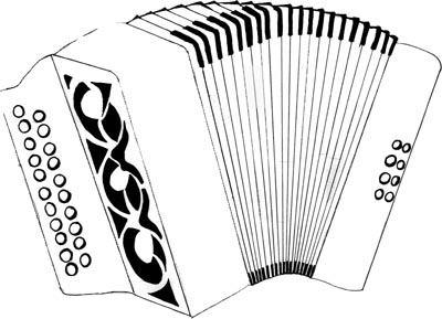 Dessin Accordéon stage accordéon diatonique avec yann dour - 14 octobre 2014 à st