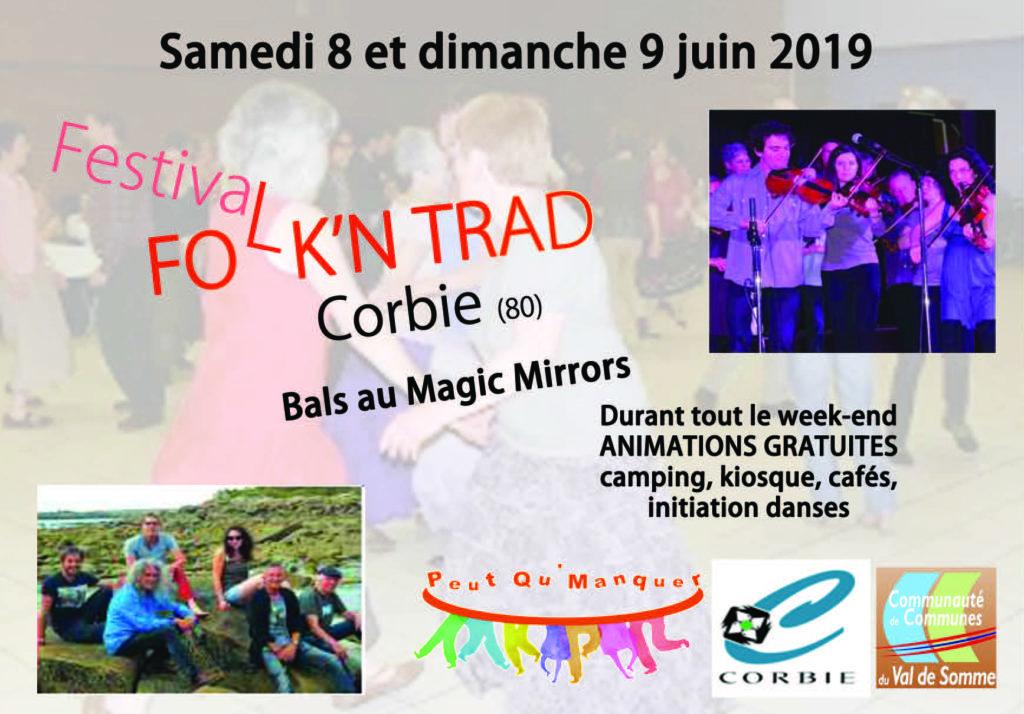 Affiche Festival Folk'N Trad à Corbie
